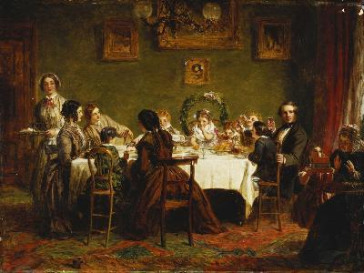 Sketch for 'Many Happy Returns of the Day'-William Powell Frith-Giclee Print