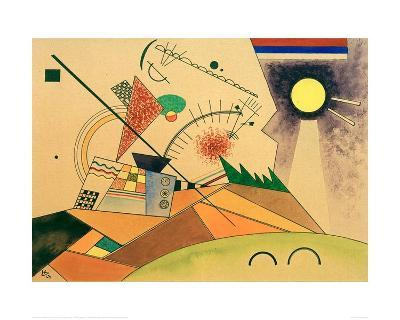 Sketch for Moving Silence, 1923-Wassily Kandinsky-Giclee Print