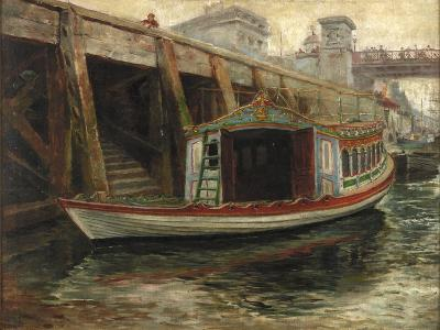 Sketch for 'The Lord Mayor's Barge', 1891-Ralph Hedley-Giclee Print