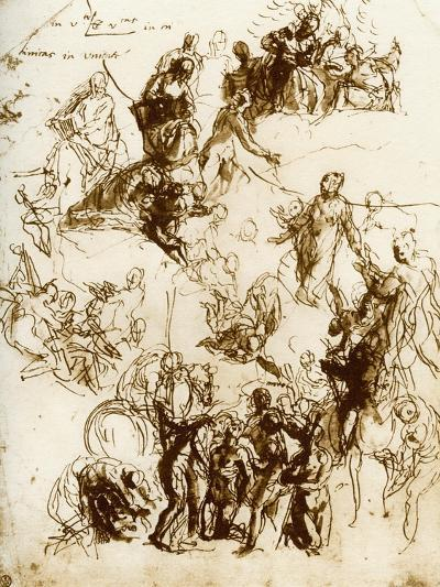 Sketch for the Martyrdom of St George, 1913-Paolo Veronese-Giclee Print