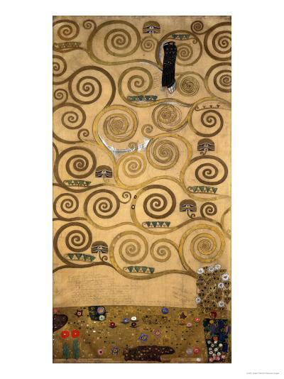 Sketch for the Stoclet Frieze (detail)-Gustav Klimt-Giclee Print