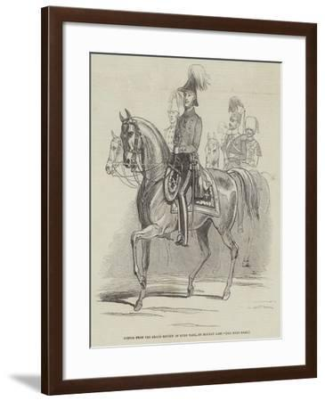 Sketch from the Grand Review in Hyde Park, on Monday Last--Framed Giclee Print