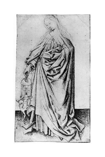 Sketch of a Saint, 1913-Rogier van der Weyden-Giclee Print