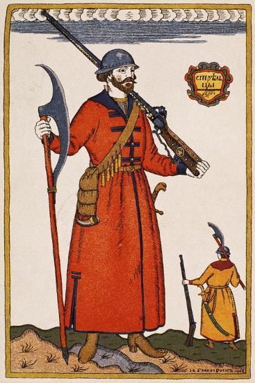 Sketch of Costume for Boris Godunov--Giclee Print