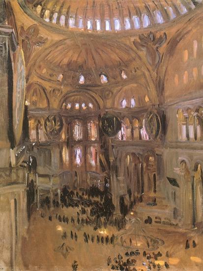 Sketch of Santa Sophia, 1891-John Singer Sargent-Premium Giclee Print