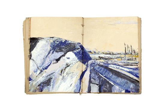 Sketchbook Landscape 4-The Trainyard Cooperative-Premium Giclee Print