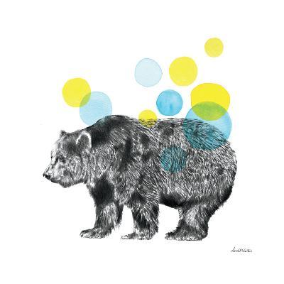 Sketchbook Lodge Bear-Lamai McCartan-Art Print