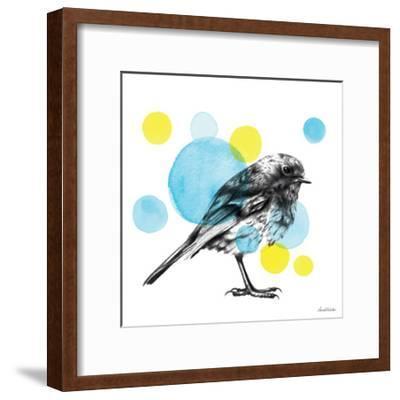 Sketchbook Lodge Bird-Lamai McCartan-Framed Premium Giclee Print