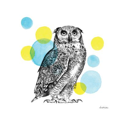 Sketchbook Lodge Owl-Lamai McCartan-Art Print