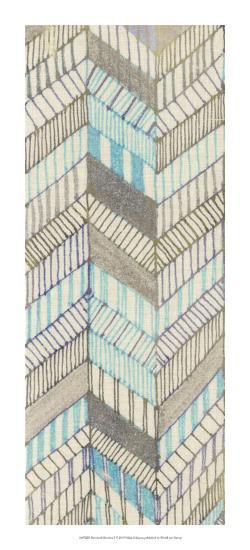 Sketched Chevron I-Nikki Galapon-Giclee Print