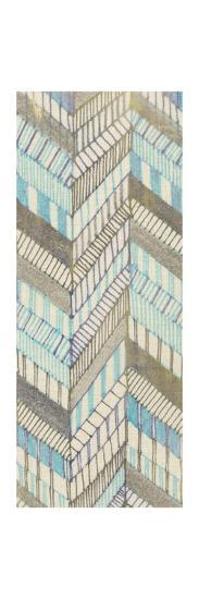 Sketched Chevron II-Nikki Galapon-Art Print