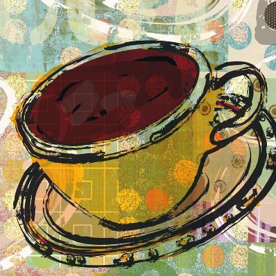 Sketched Coffee-Walter Robertson-Art Print