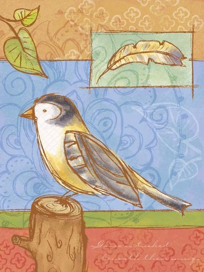 Sketched Nature 3-Holli Conger-Giclee Print