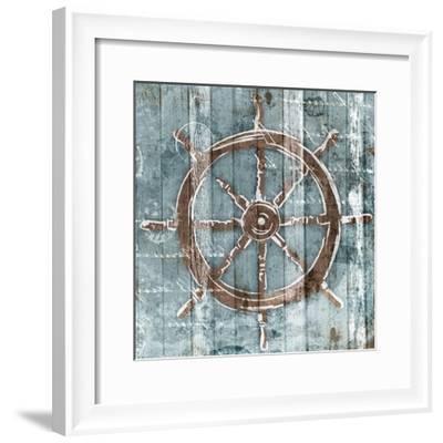 Sketched Wheel-OnRei-Framed Art Print