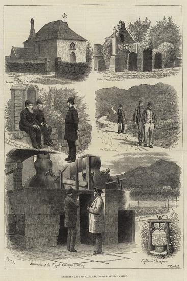 Sketches around Balmoral-J.M.L. Ralston-Giclee Print