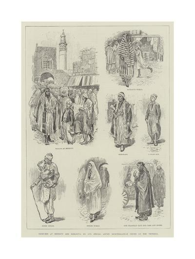 Sketches at Beyrout and Damascus-William Douglas Almond-Giclee Print