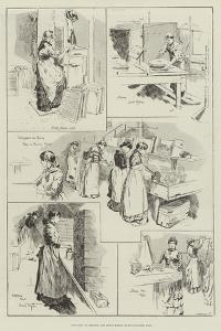 Sketches at Bryant and May's Match Manufactories, Bow