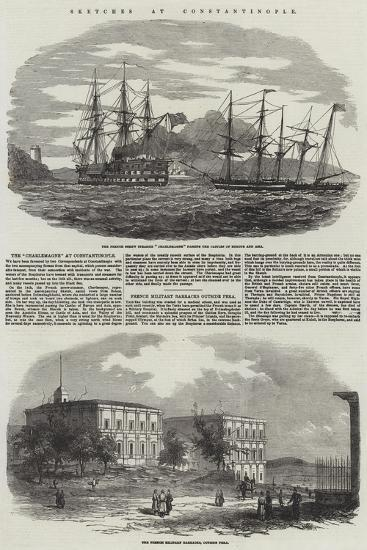 Sketches at Constantinople--Giclee Print