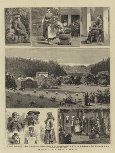 Sketches at Marienbad, Bohemia--Giclee Print