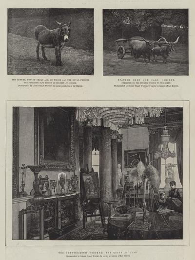 Sketches at Osborne--Giclee Print