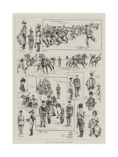 Sketches at the Royal Military Tournament-Ralph Cleaver-Giclee Print