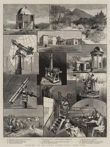 Sketches at the Royal Observatory, Cape Town