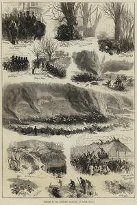 Sketches at the Volunteer Sham-Fight on Easter Monday