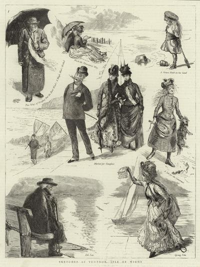 Sketches at Ventnor, Isle of Wight--Giclee Print