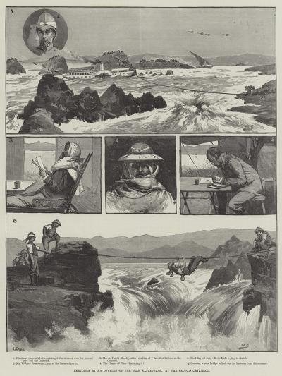 Sketches by an Officer of the Nile Expedition, at the Second Cataract-George L. Seymour-Giclee Print