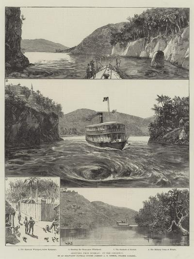 Sketches from Burmah, Up the Chindwin-William Heysham Overend-Giclee Print