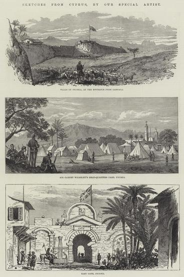 Sketches from Cyprus--Giclee Print