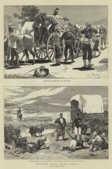 Sketches from South Africa-Charles Edwin Fripp-Giclee Print