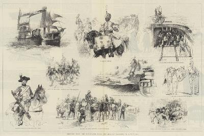 Sketches from The Illustrated Naval and Military Magazine, No 1, July 1884-William Heysham Overend-Giclee Print