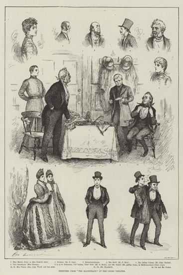 Sketches from The Magistrate at the Court Theatre-Henry Stephen Ludlow-Giclee Print