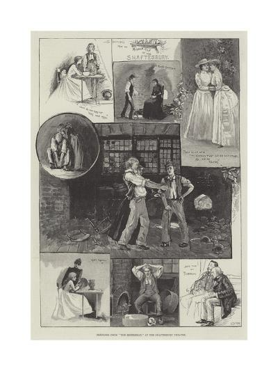 Sketches from The Middleman, at the Shaftesbury Theatre-Henry Charles Seppings Wright-Giclee Print