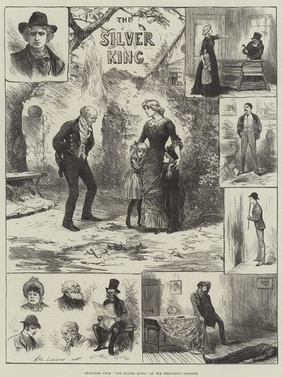 Sketches from The Silver King, at the Princess's Theatre-Henry Stephen Ludlow-Giclee Print