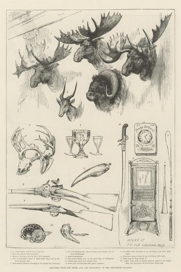 Sketches from the Sport and Art Exhibition at the Grosvenor Gallery--Giclee Print