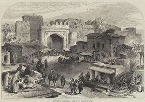 Sketches in Afghanistan, Gate of the Bazaar at Cabul