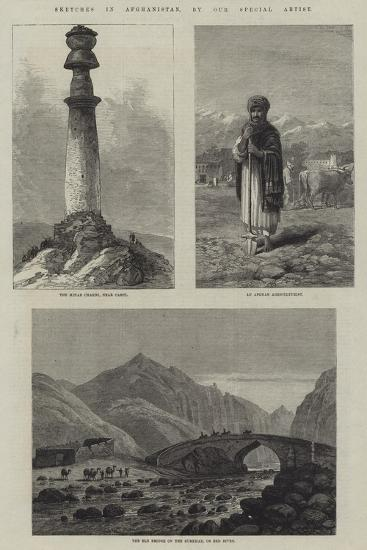 Sketches in Afghanistan--Giclee Print