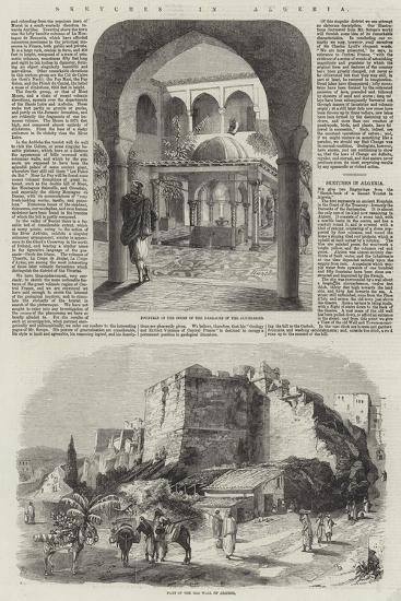 Sketches in Algeria-Richard Principal Leitch-Giclee Print