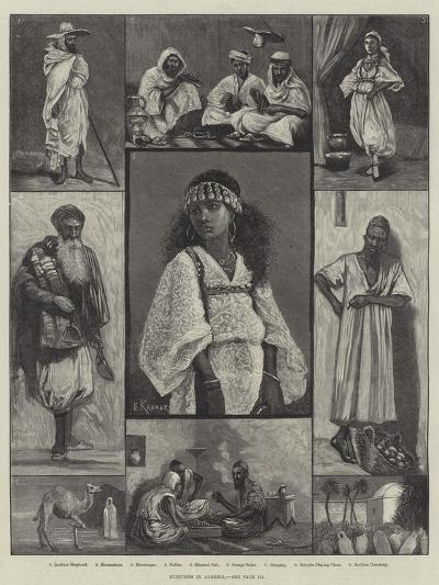 Sketches in Algeria--Giclee Print