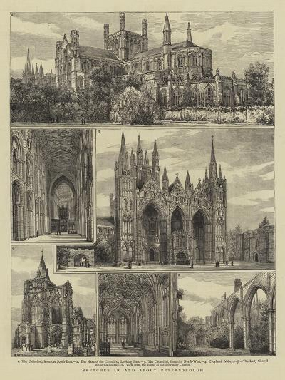 Sketches in and About Peterborough-Henry William Brewer-Giclee Print