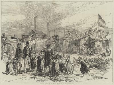Sketches in Berlin, Squatters' Village in the Schlaechter-Weise--Giclee Print
