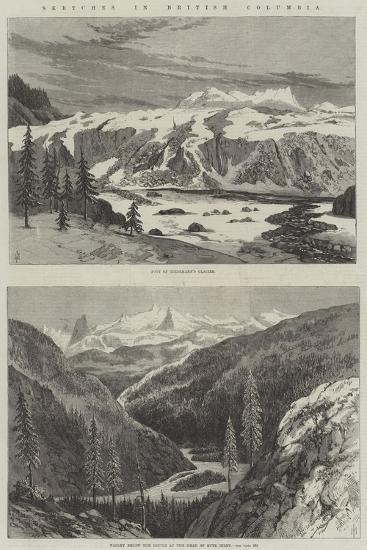 Sketches in British Columbia--Giclee Print