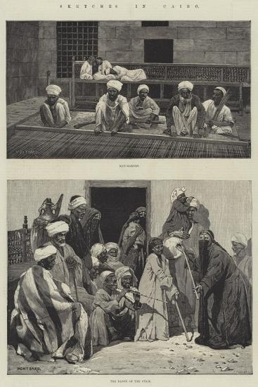 Sketches in Cairo-Charles Auguste Loye-Giclee Print