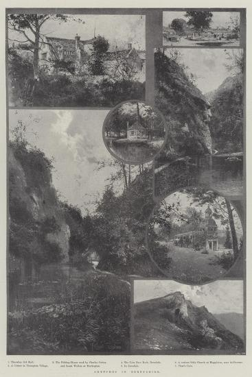 Sketches in Derbyshire-Joseph Holland Tringham-Giclee Print