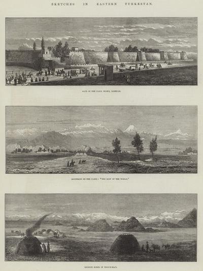 Sketches in Eastern Turkestan--Giclee Print
