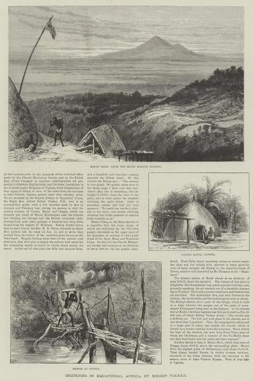 Sketches in Equatorial Africa--Giclee Print