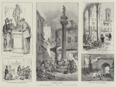Sketches in Florence-William Henry Pike-Giclee Print