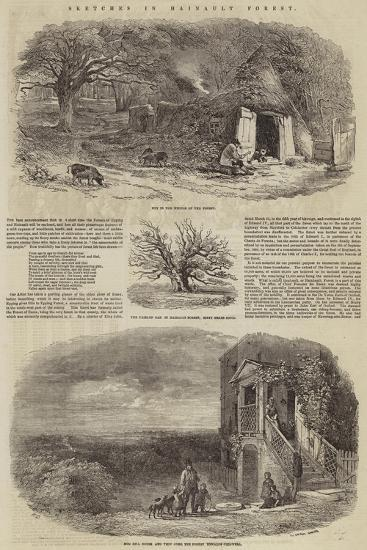 Sketches in Hainault Forest-Edward Duncan-Giclee Print